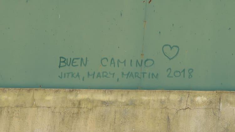 Podpis na stěnu